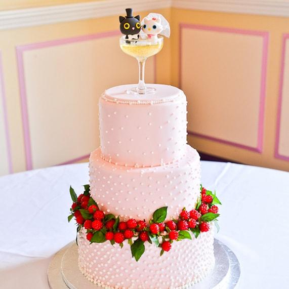 Wedding Cake Wednesday: Pink Champagne | Disney Weddings| Disney ...