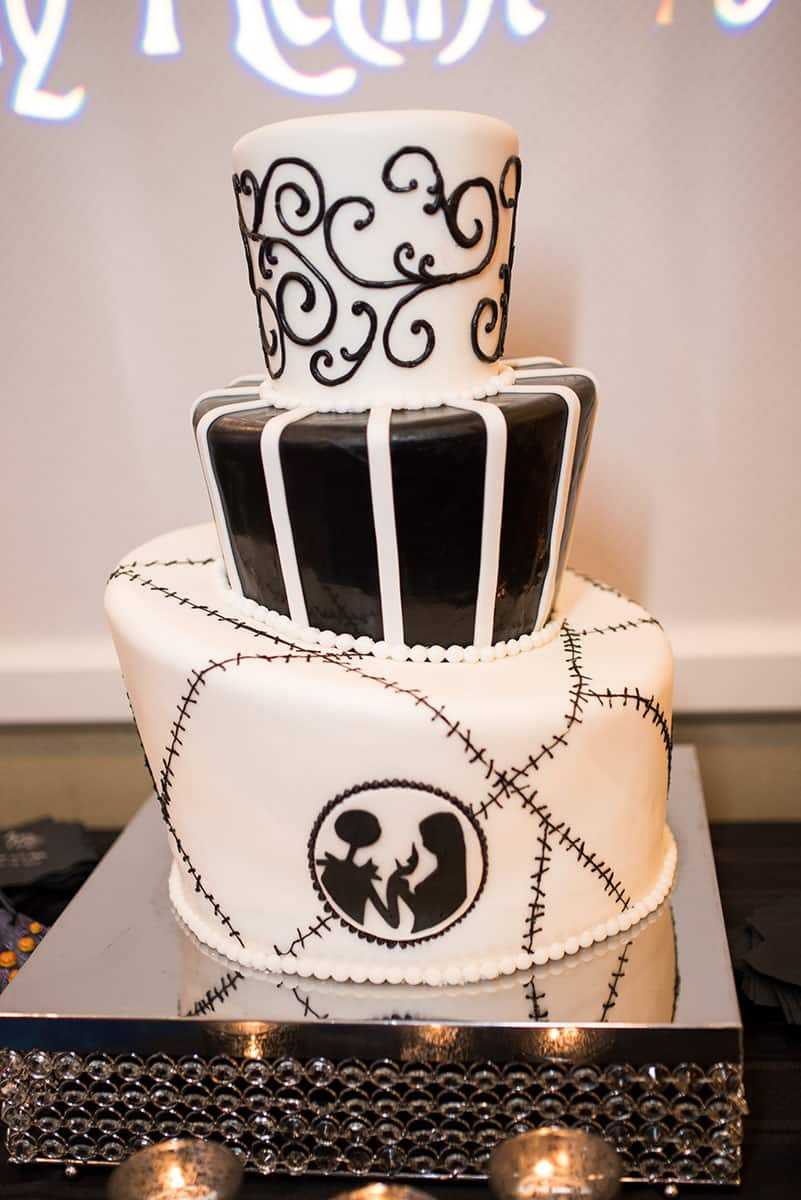 Wedding Cake Wednesday: Nightmare Before Christmas | Disney Weddings ...