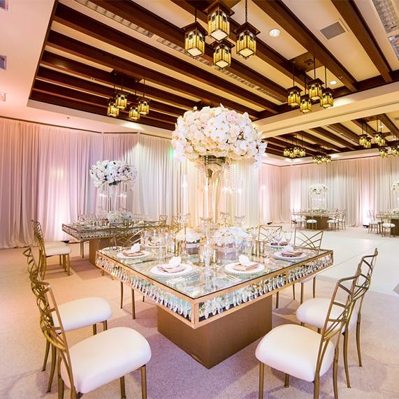 Ballroom Transformation Sorrel Room At Disney S Grand Californian Hotel Weddings