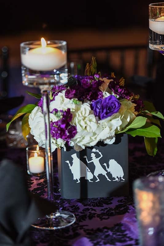 Disney Halloween Wedding Decor Inspiration Disney Weddings