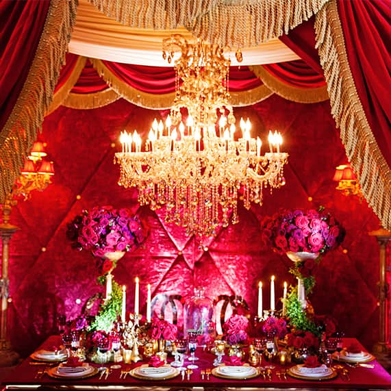 Decor Beauty And The Beast Inspired Grand Reception Disney Weddings