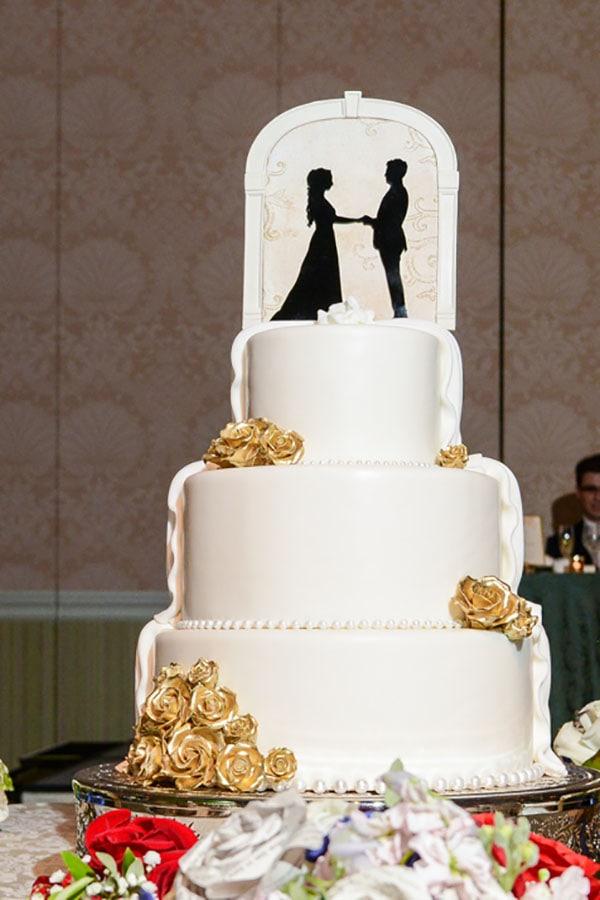 Wedding Cake Wednesday Half And Half Cakes Disney Weddings