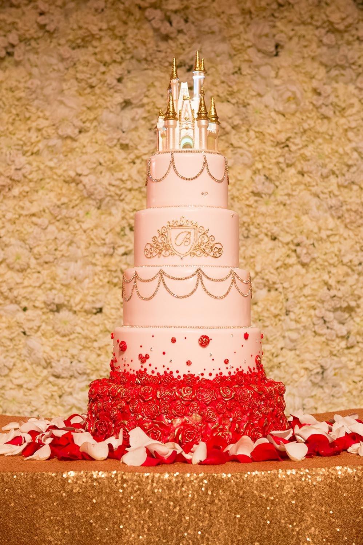 Beauty And The Beast Wedding Cake.Wedding Cake Wednesday Beauty And The Beast Inspiration Disney
