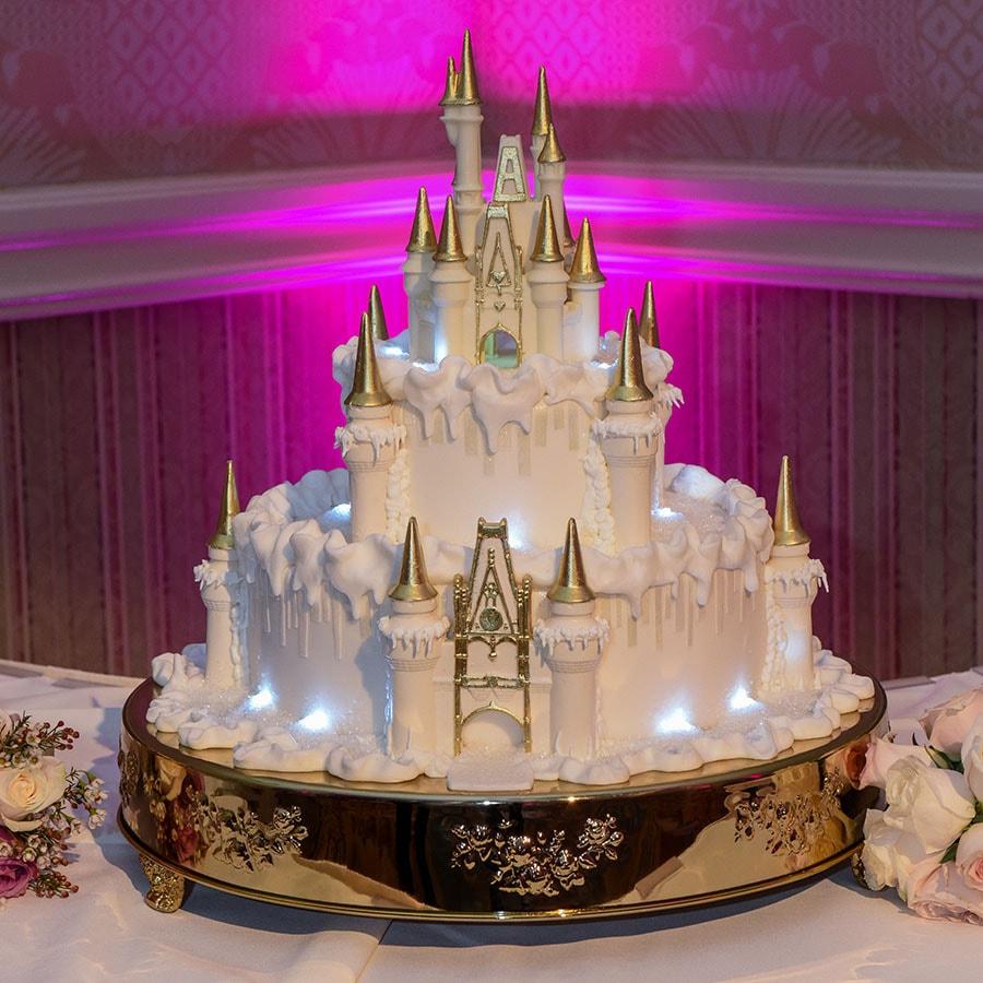 Wedding Cake Wednesday: Wintertime At Cinderella Castle