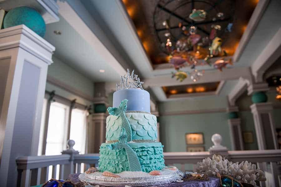 Wedding Cake Wednesday Mermaid Tail Disney Weddings