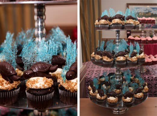I Recently Attended A Wedding At Disney S Vero Beach Resort And Fell Head Over Heels For These Adorable Chocolate Sea Turtle Cupcakes