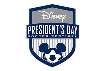 Disney Presidents Day Soccer Festival Logo