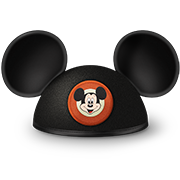 An icon of a Mickey Ears hat