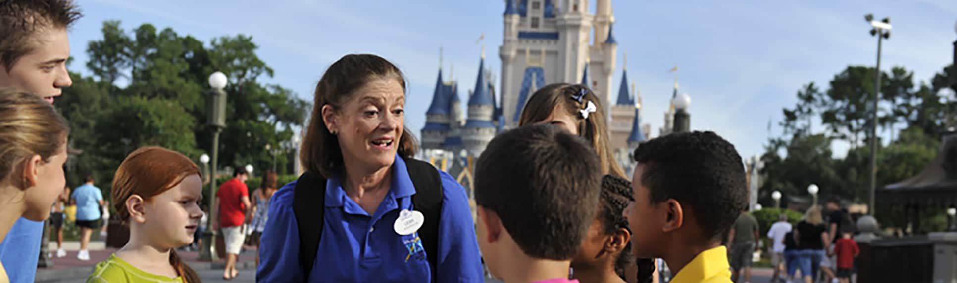A Cast Member with children