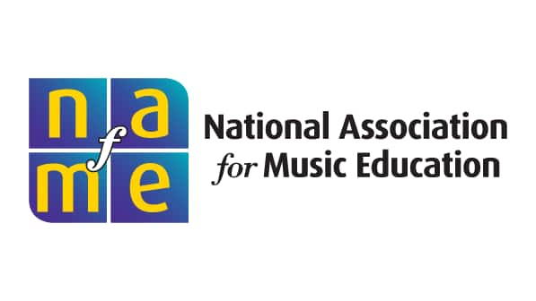 A logo for National Association of Music Education